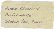 Audio: Classical Performance: